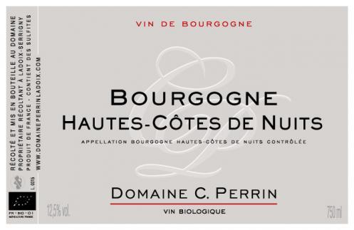 Bourgogne hautes cotes de nuits