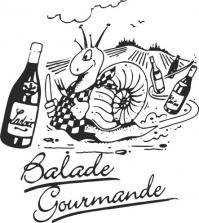 Logo balade gourmande